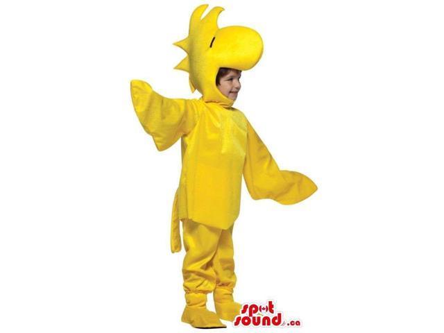 Woodstock Bird Snoopy Cartoon Character Children Size Costume