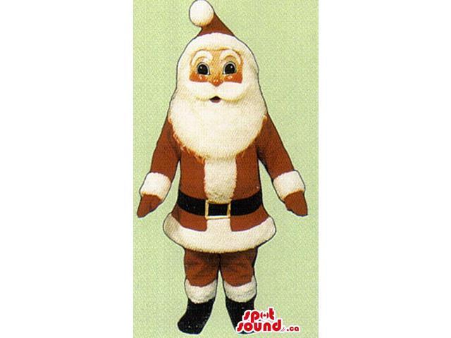 Customised Santa Claus Christmas Character Canadian SpotSound Mascot