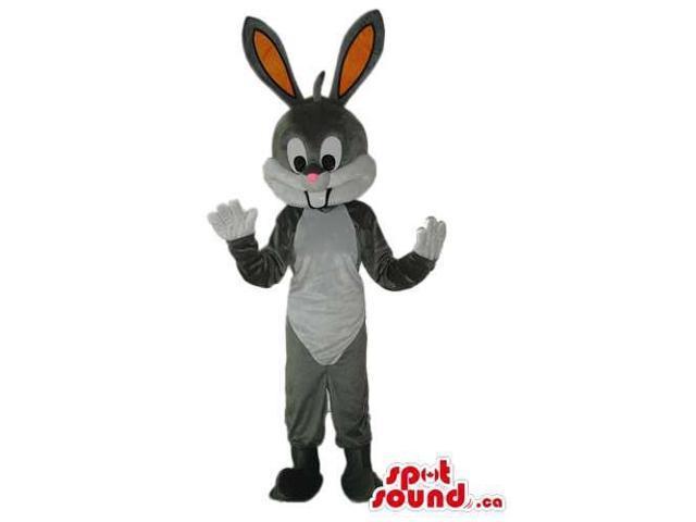 Cute Bugs Bunny Animal Cartoon Warner Bros. Character Canadian SpotSound Mascot