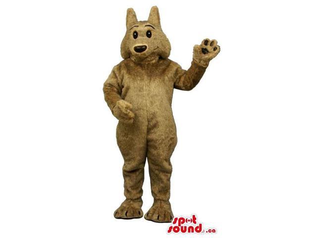 Customised All Brown Dog Animal Pet Plush Canadian SpotSound Mascot