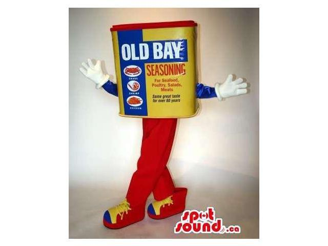 Original Product Packaging Canadian SpotSound Mascot With Text And Brand Name