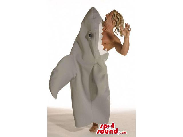 Very Original Shark Eating A Surfer Adult Size Plush Costume