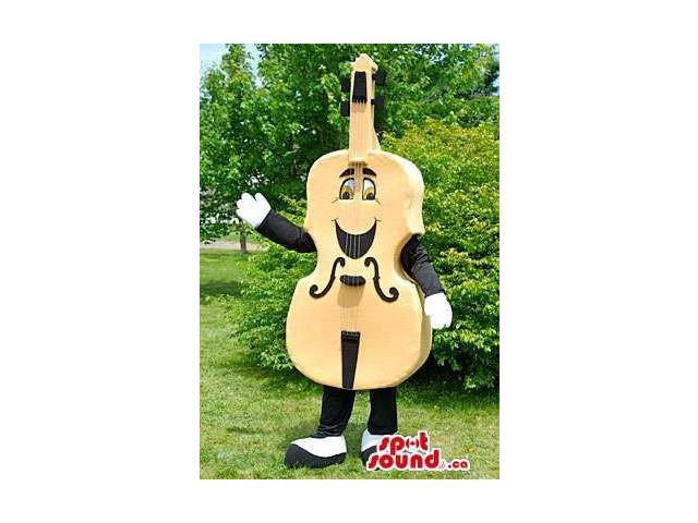 All And Customised Violin Musical Instrument Canadian SpotSound Mascot
