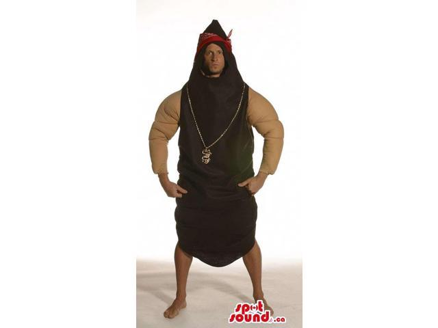 Strong Oriental Fighter Adult Size Costume With Red Headband
