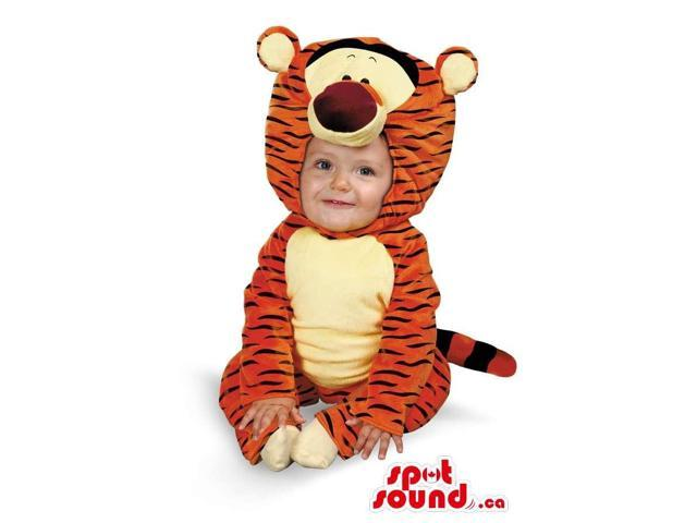 Peculiar Winnie The Pooh Tiger Plush Toddler Size Costume