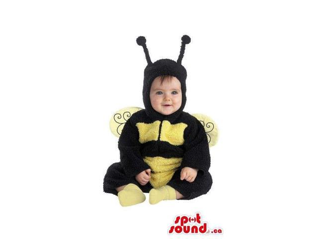 Peculiar And Cute Bee Plush Halloween Toddler Size Costume