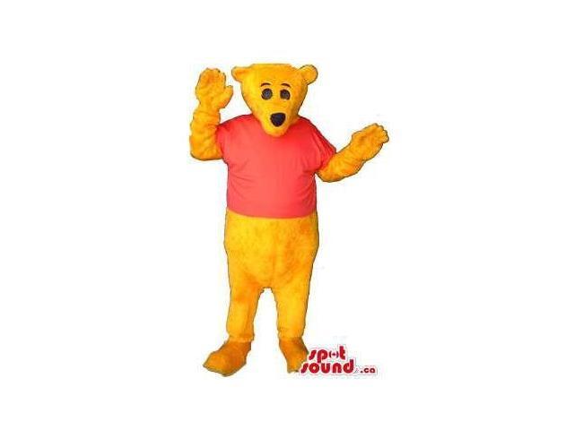 Well-Known Winnie The Pooh Alike Large Flashy Plush Canadian SpotSound Mascot