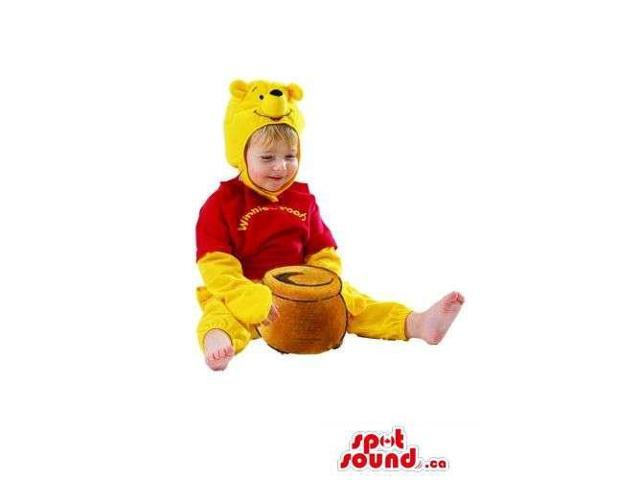 Winnie The Pooh Flashy Children Size Plush Costume