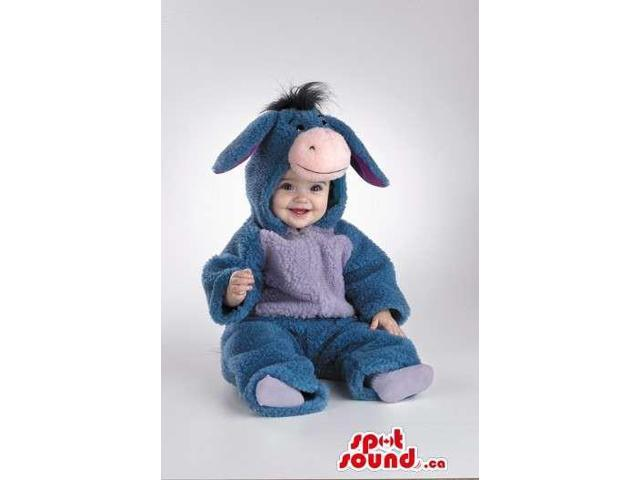 Peculiar Winnie The Pooh Donkey Plush Toddler Size Costume
