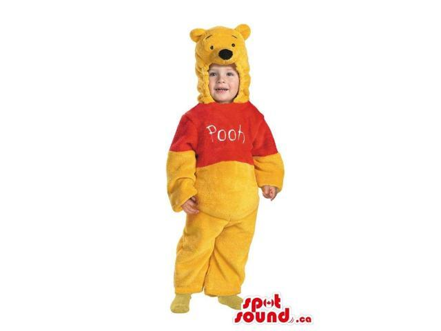 Peculiar Winnie The Pooh Bear Plush Toddler Size Costume