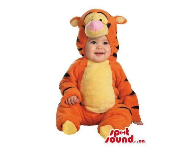 Lovely Winnie The Pooh Tiger Plush Toddler Size Costume