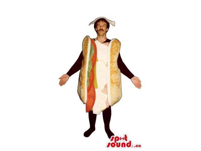 Huge Large Long Sandwich Adult Size Costume Or Canadian SpotSound Mascot
