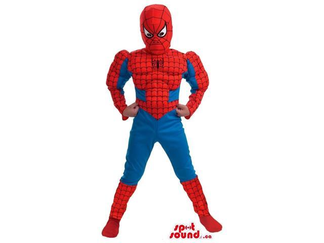 Fantastic Spiderman Character Children Size Costume