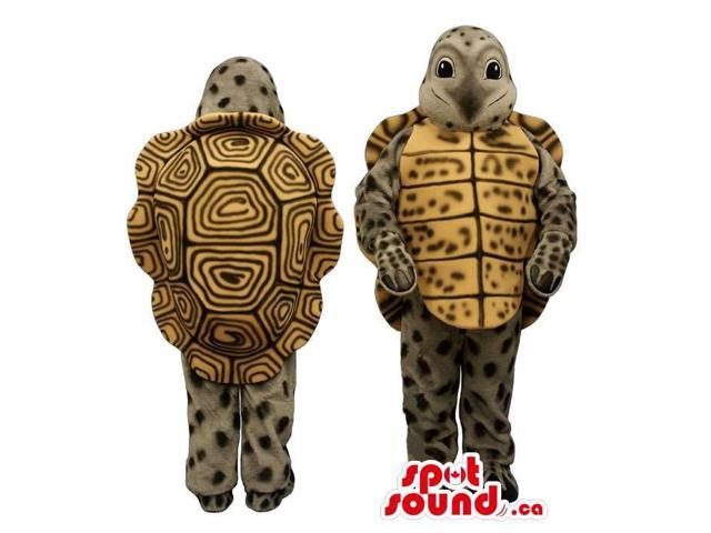 Customised Special Turtle Plush Canadian SpotSound Mascot With Dots