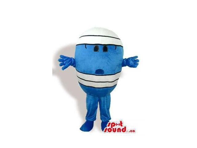 Mr. Men Children'S Books Mr. Bump Character Canadian SpotSound Mascot