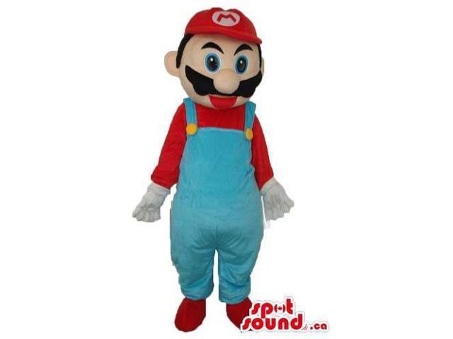 Super Mario Bros. Well-Known Video Game Character Canadian SpotSound Mascot
