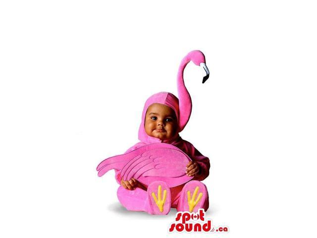 Very Cute Child Toddler Size Pink Flamingo Plush Costume