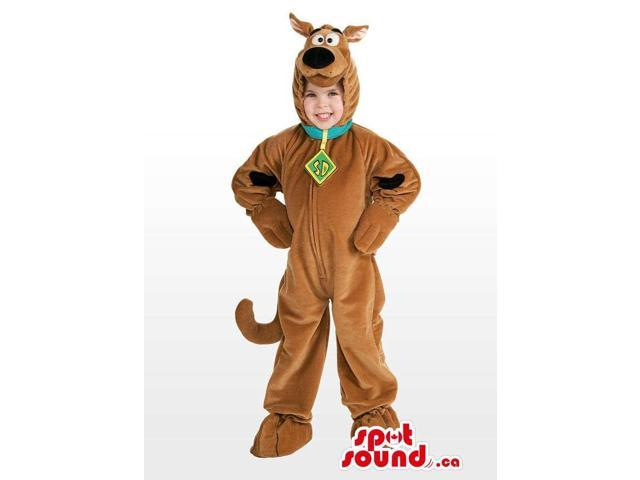 Well-Known Scooby-Doo Dog Character Children'S Costume