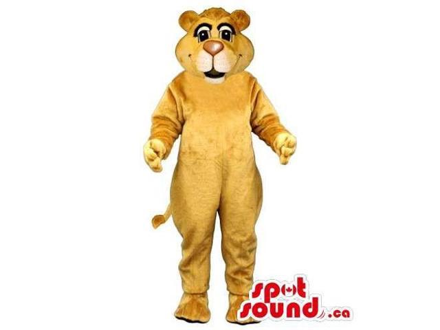 Customised And All Light Brown Bear Forest Canadian SpotSound Mascot