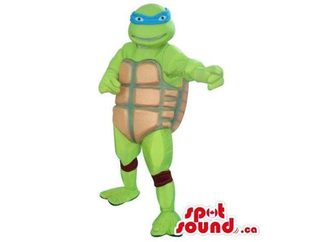 Well-Known Ninja Turtles Leonard Character Plush Canadian SpotSound Mascot