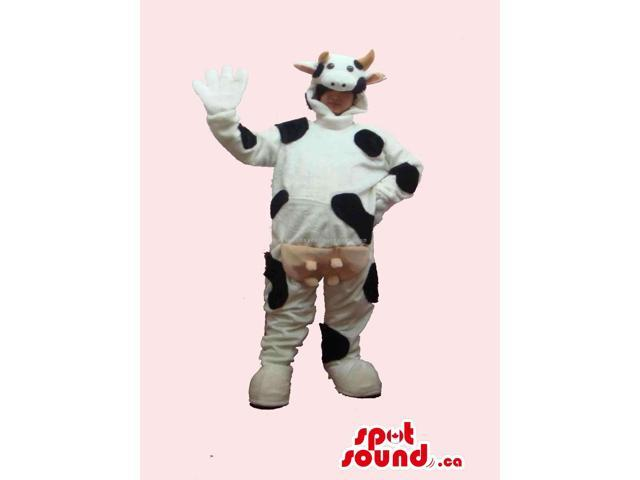 Customised Peculiar Large Cow Canadian SpotSound Mascot Or Adult Disguise