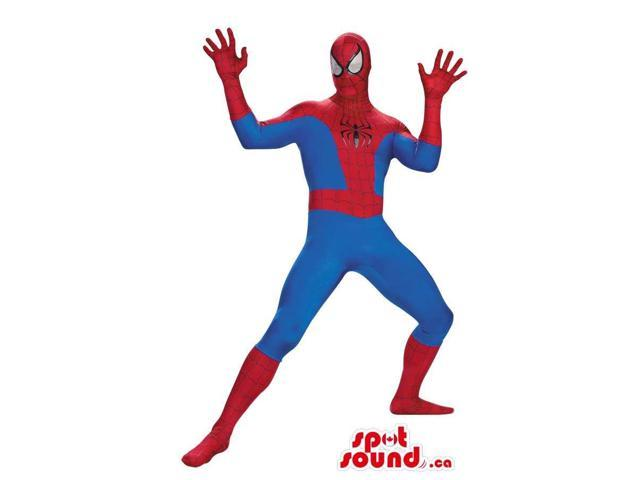 Super Cool Spiderman Character Adult Size Costume