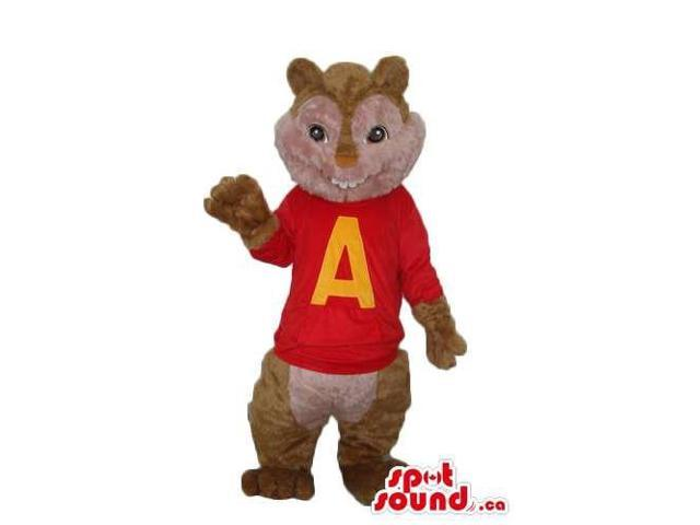 Alvin The Chipmunk Well-Known Movie Character Alike Canadian SpotSound Mascot