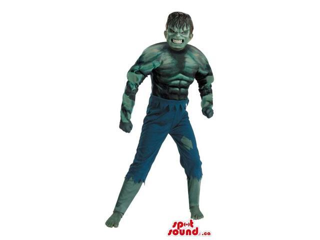 Fantastic Scary Hulk Character Adult Size Costume