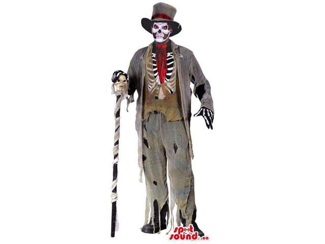 Fantastic Horror Zombie Dead Character Adult Size Costume