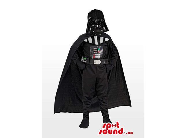 Awesome Darth Vader Star Wars Character Costume Canadian SpotSound Mascot
