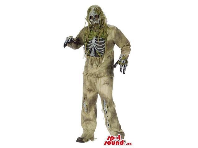 Fantastic Horror Walking Dead Zombie Character Adult Size Costume