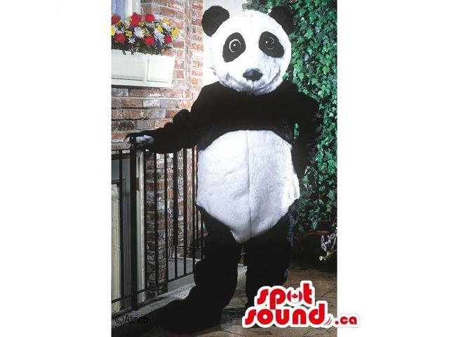 Customised Standard All Panda Bear Forest Canadian SpotSound Mascot