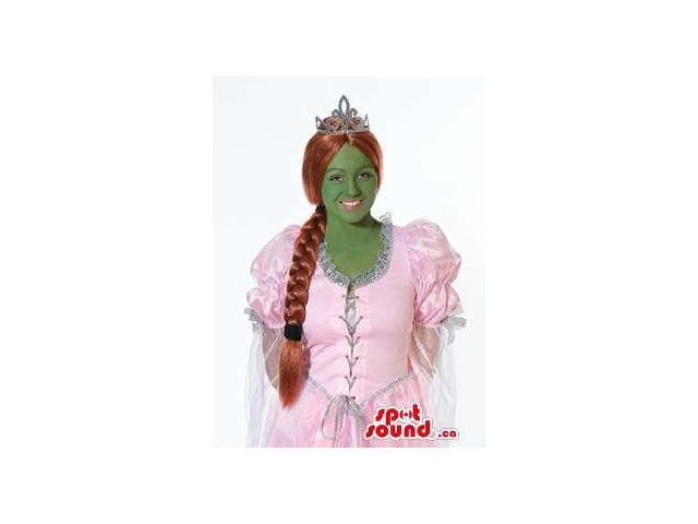 Fiona Ogre Princess Shrek Character Adult Size Costume