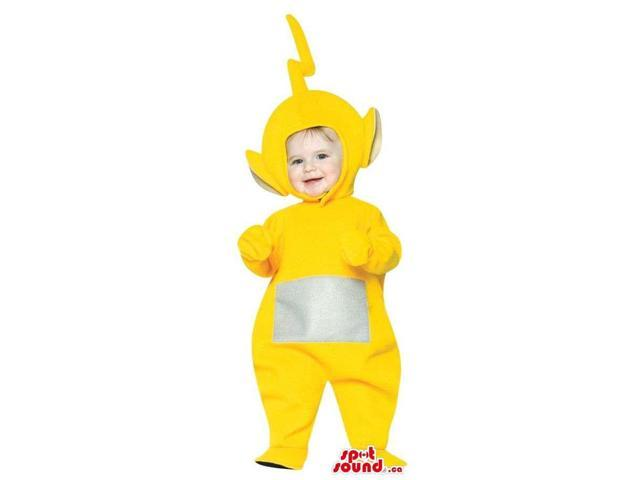 Very Cute Yellow Teletubbies Character Toddler Size Plush Costume