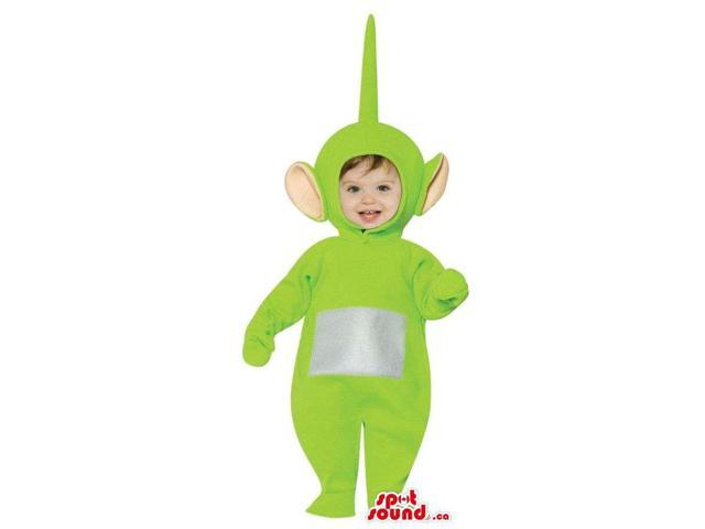 Very Cute Green Teletubbies Character Toddler Size Plush Costume