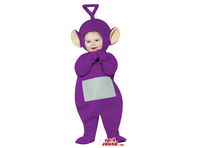 Very Cute Purple Teletubbies Character Toddler Size Plush Costume
