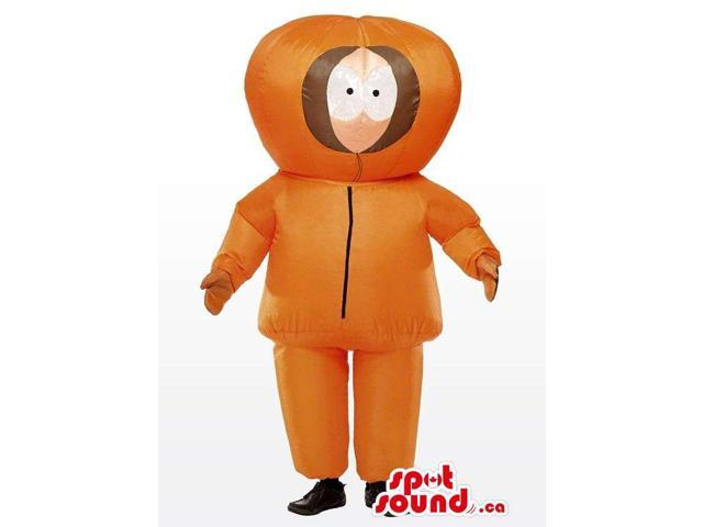 South Park Kenny Cartoon Tv Character Plush Canadian SpotSound Mascot