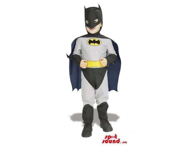 Cool Batman Super Hero Character Children Size Disguise