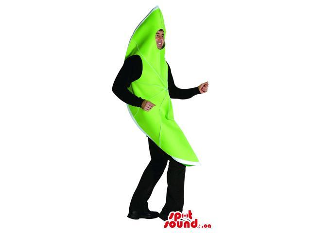 Great Green Lime Fruit Adult Size Disguise Costume