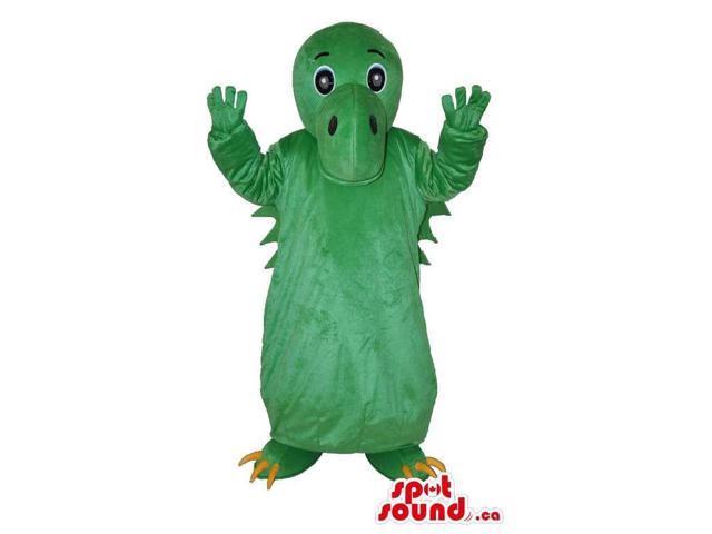 Customised Fairy-Tale Cute Green Dragon Plush Canadian SpotSound Mascot