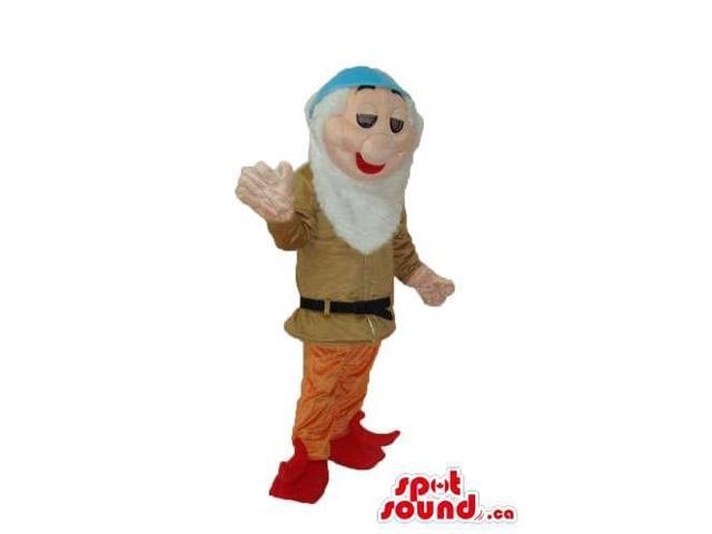 Snow White And The Seven Dwarfs Canadian SpotSound Mascot In Brown Gear