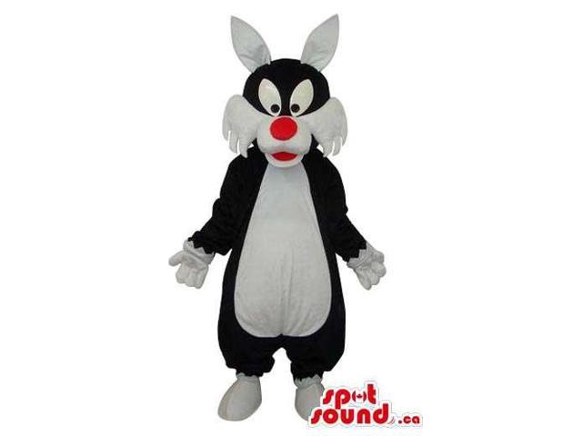 Well-Known Sylvester Cat Warner Bros. Cartoon Character Canadian SpotSound Mascot