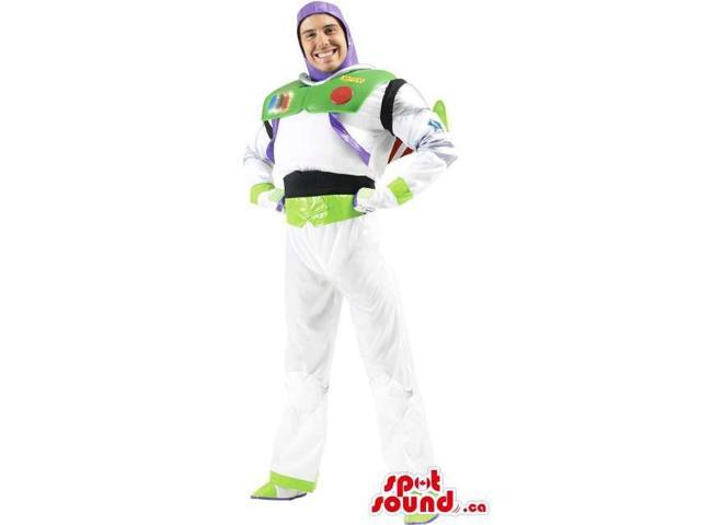 Buzz Astronaut Toy Story Character Adult Size Costume Or Canadian SpotSound Mascot