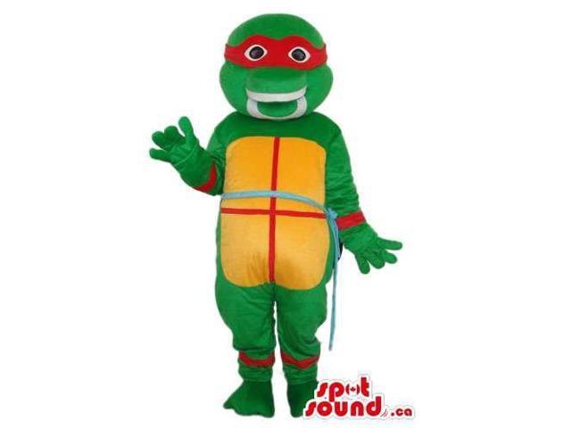 Raphael Ninja Turtle Tv Cartoon Character Plush Canadian SpotSound Mascot