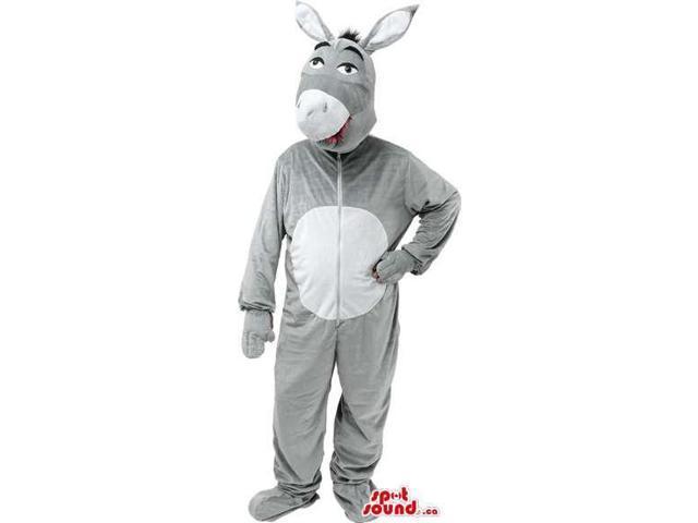 Grey Donkey Adult Size Plush Costume Disguise Costume