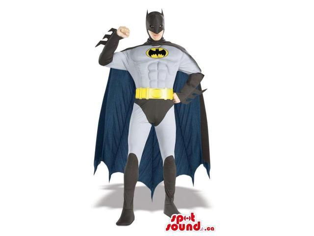 Real-Looking Cool Batman Character Adult Size Costume