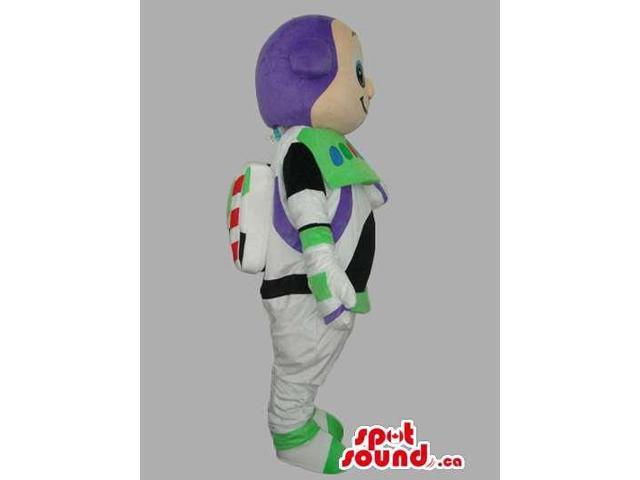 Iconic Buzz Astronaut Toy Story Movie Character Canadian SpotSound Mascot