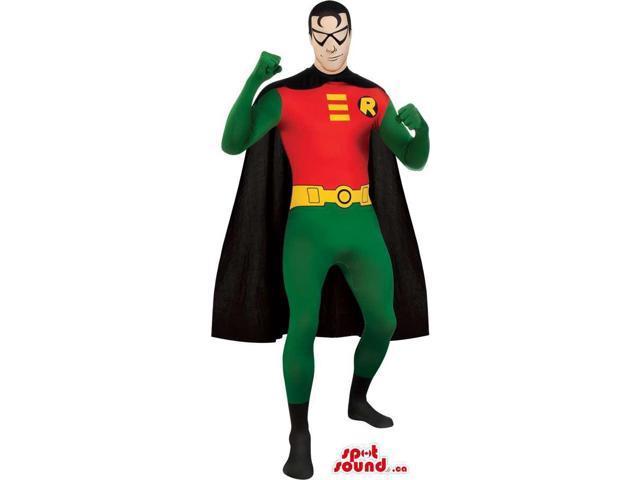 Cool Batman Robin Marvel Cartoon Character Adult Size Costume