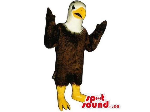 Friendly Customised All American Eagle Canadian SpotSound Mascot