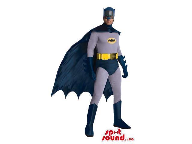 Batman Marvel Cartoon Character Adult Size Costume